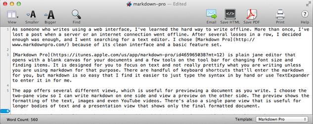 Markdown Pro