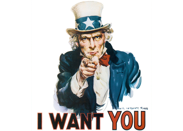 I want YOU for targeted political ads