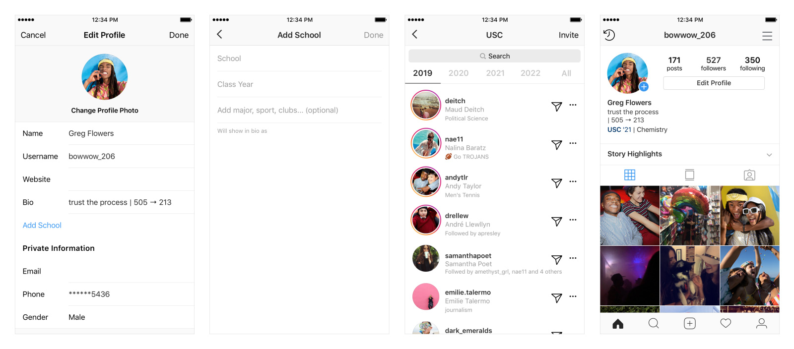 Instagram School Communities