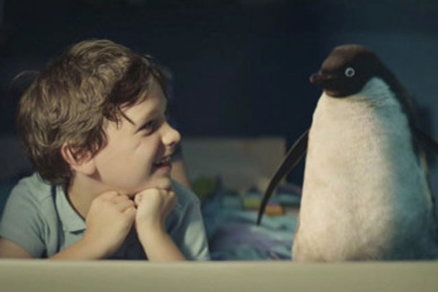 John Lewis Christmas advert 2014:  Monty the penguin and schoolboy Sam will melt your heart