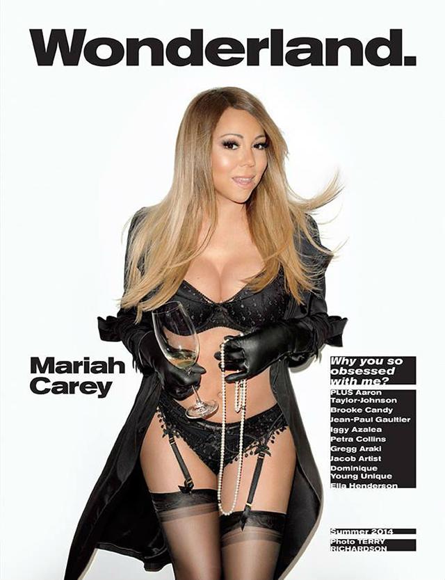 mariah carey wonderland magazine