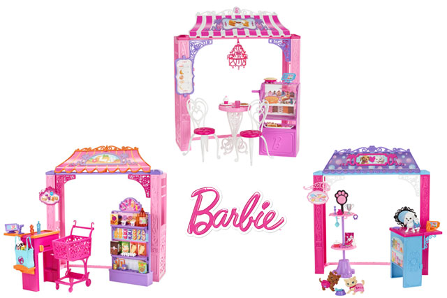 ​WIN! Three Barbie™ Malibu Avenue Shops!