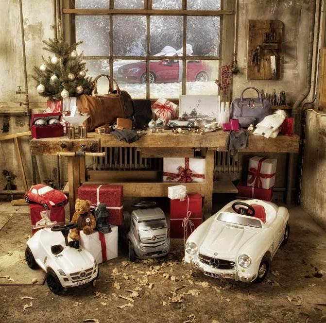 Geschenkideen von Audi, BMW und Mercedes-Benz