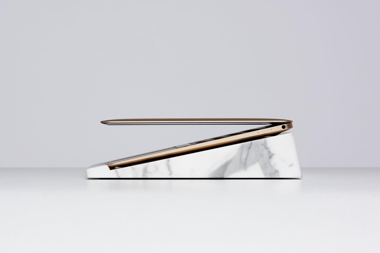 Edel-Ständer: MacBook-Marmorthron für 3.600 Euro