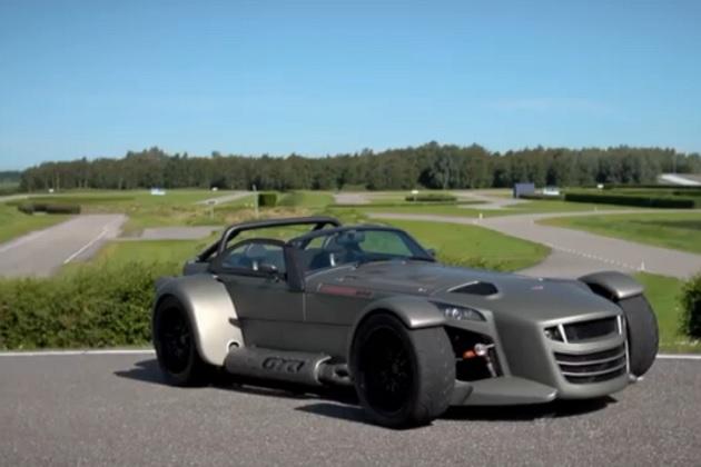 【ビデオ】380hpのパワーに700kgの車重はまさにロケットカー! ドンカーブート「D8 GTO」