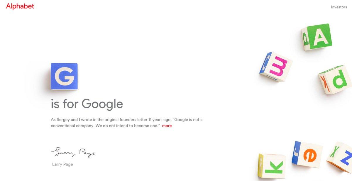 Google se reorganiza y recibe un nuevo CEO: Sundar Pichai