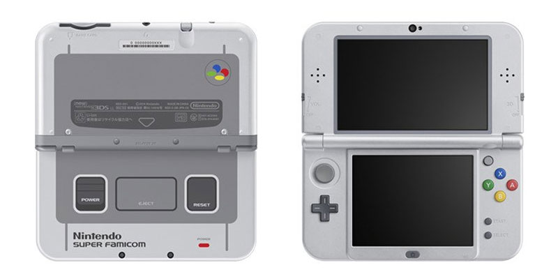 Retro-Hammer: Nintendo 3DS XL im SNES-Design