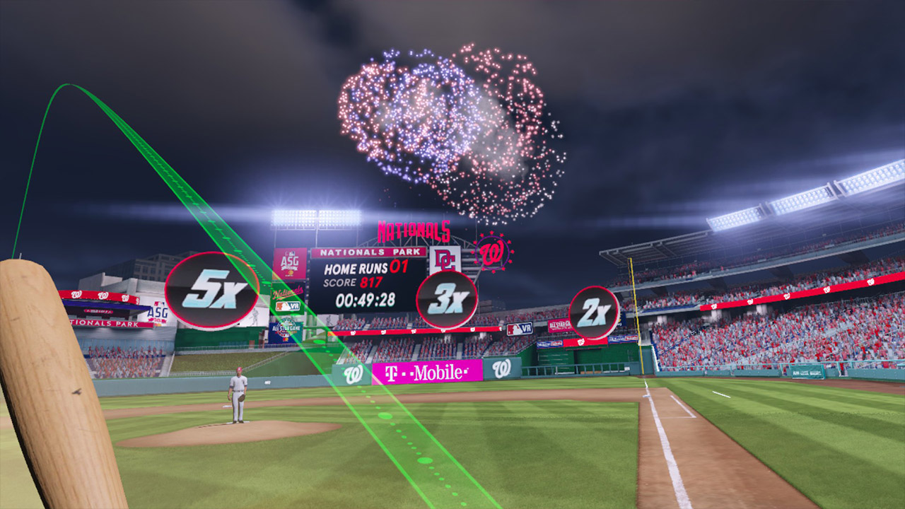 MLB's virtual reality home run derby comes to PSVR and HTC Vive