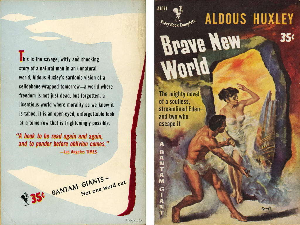 an analysis of stability in brave new world a novel by aldous huxley And, in a shield, the world state's motto, community, identity, stabi-lity  london always made a point of personally conducting his new students round the various departments  hard to say and anyhow the question didn't arise in this year of stability, a f 632, it didn't occur to you to ask it.