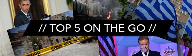 Top 5 On the Go: Thursday July 2
