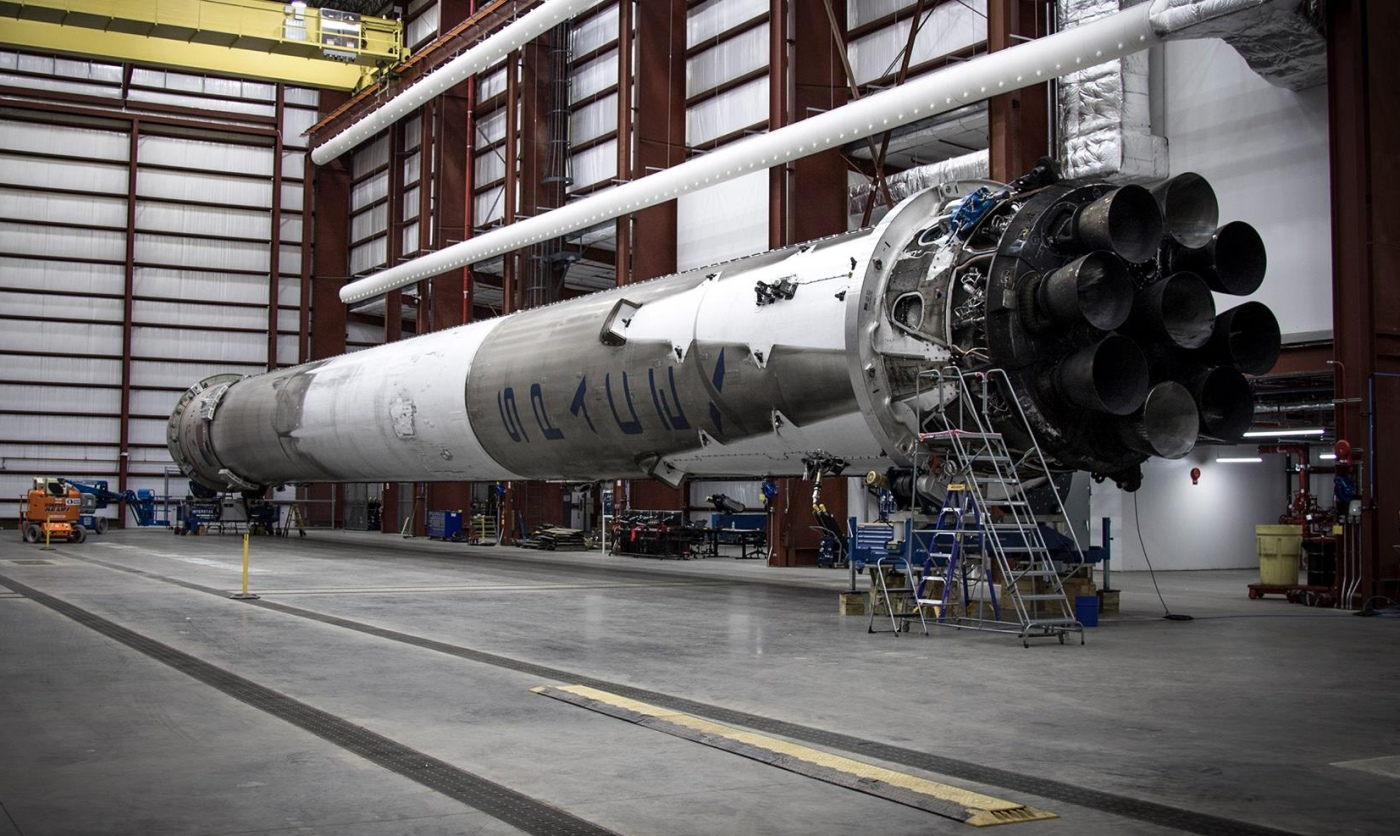 SpaceX successfully fired up its returned Falcon 9