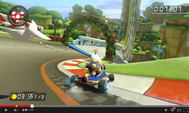 Mario Kart 8 at 60FPS on YouTube