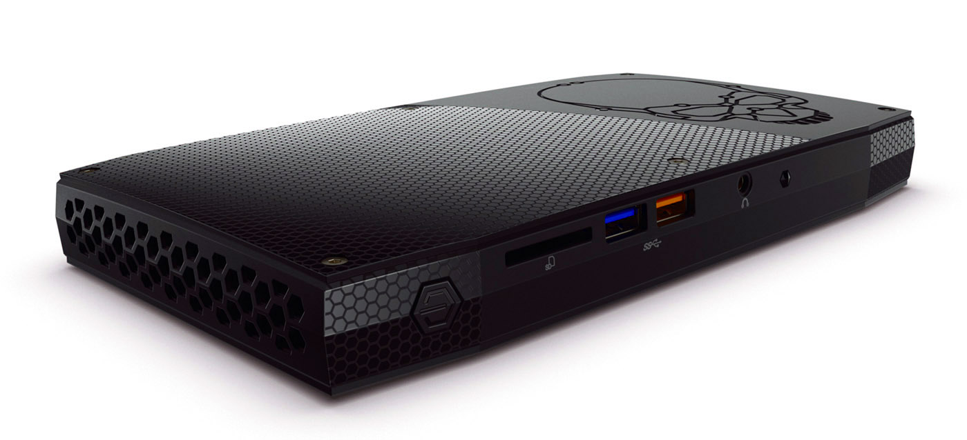 Intel is introducing the Skull Canyon NUC at the 2016 Game Developers Conference on March 16, 2016. (Credit: Intel Corporation)