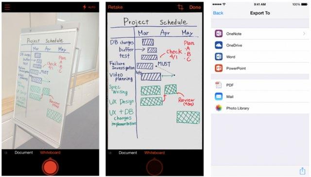 スマホをOCRスキャナにする無料アプリOffice Lens、マイクロソフトがiOS/Android版配信