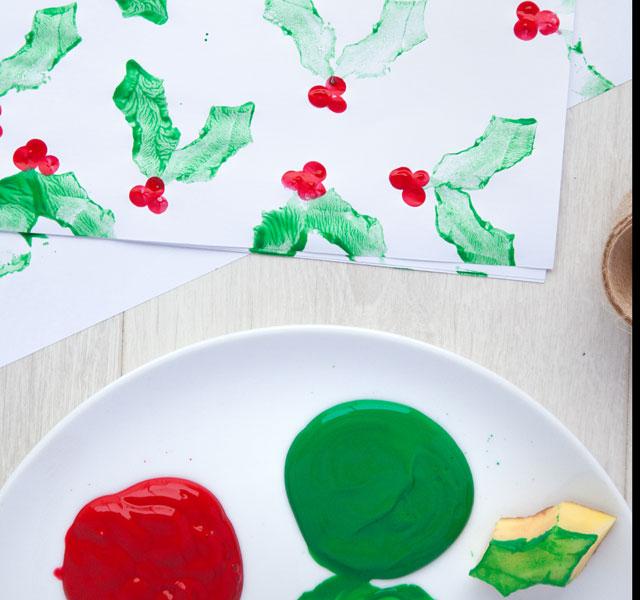 Christmas life hacks: DIY Wrapping Paper