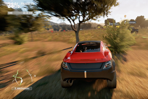 how to change car settings in forza horzion