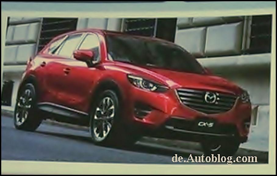 Der neue Mazda CX-5 zeigt sich