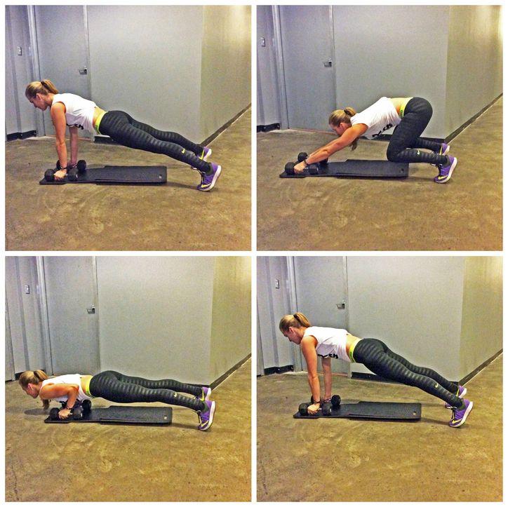 High intensity workout