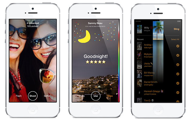 Facebook's Slingshot is a Snapchat competitor that wants you to snap back