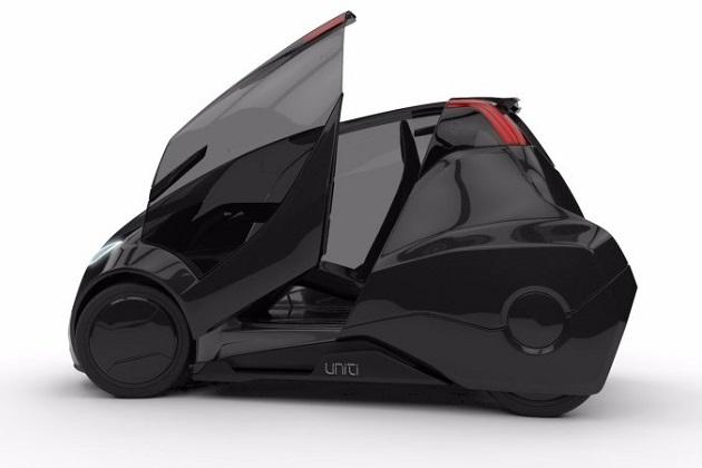 スウェーデンのスタートアップUnitiが、クラウドファンディングで3輪電気自動車の開発資金を調達中!