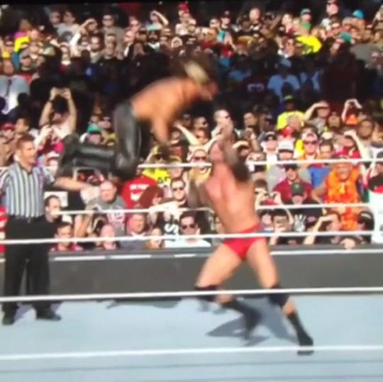 ゆでたまご先生かよ!WWEで披露された必殺技を必殺技で返す「史上最高のRKO」がスゴすぎる