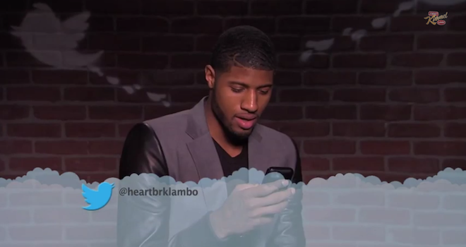 NBA Stars Mean Tweets