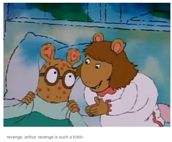 Inappropriate 'Arthur' Seems Like The Way To Go
