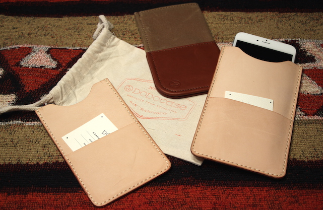 DODOcase VegTan Slim and Durables Wallets for iPhone 6/6 Plus