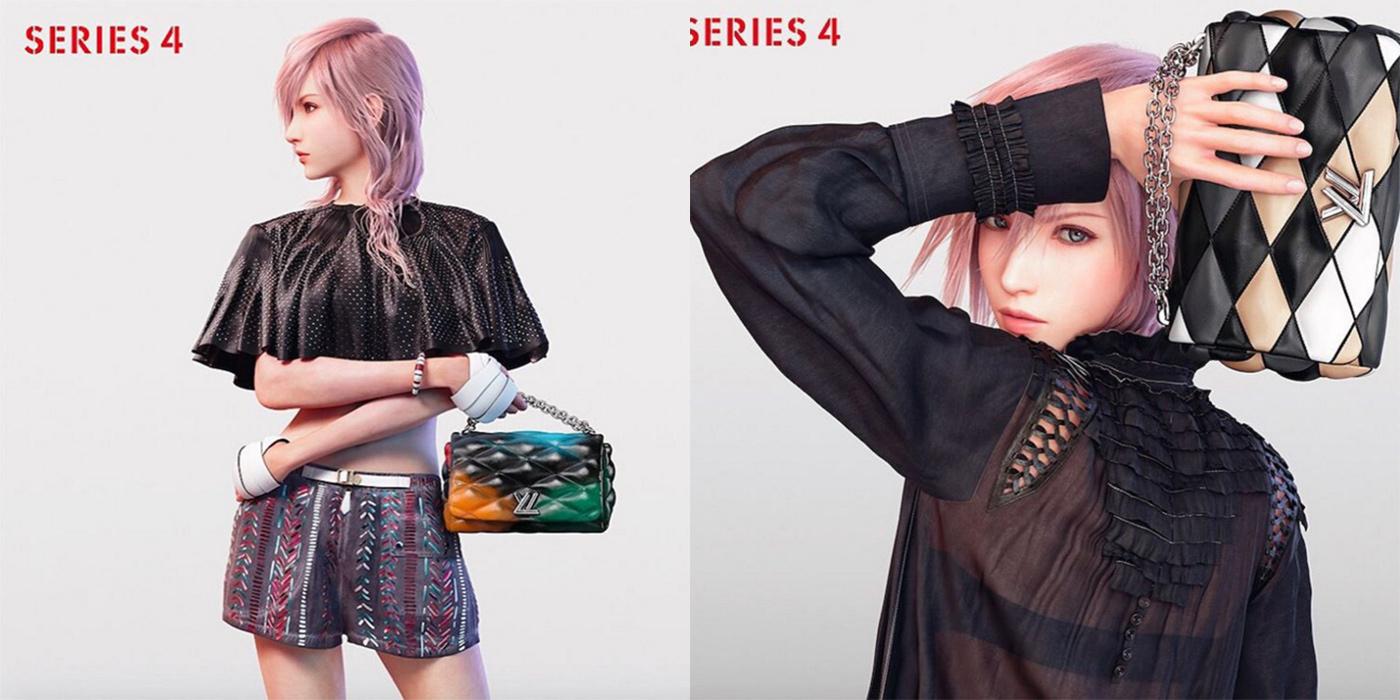 Louis Vuitton utiliza como modelo a un personaje de 'Final Fantasy'