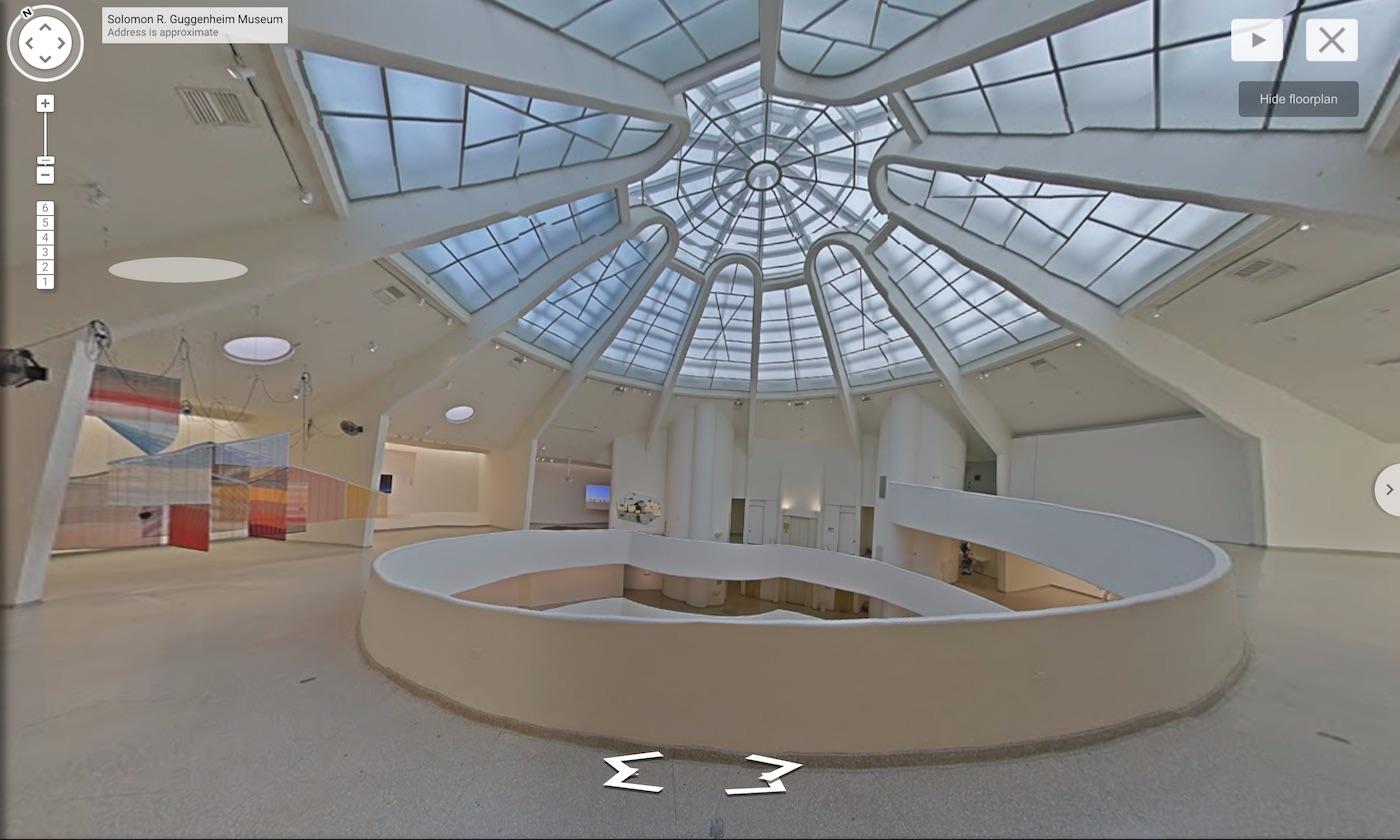 Google Guggenheim Street View