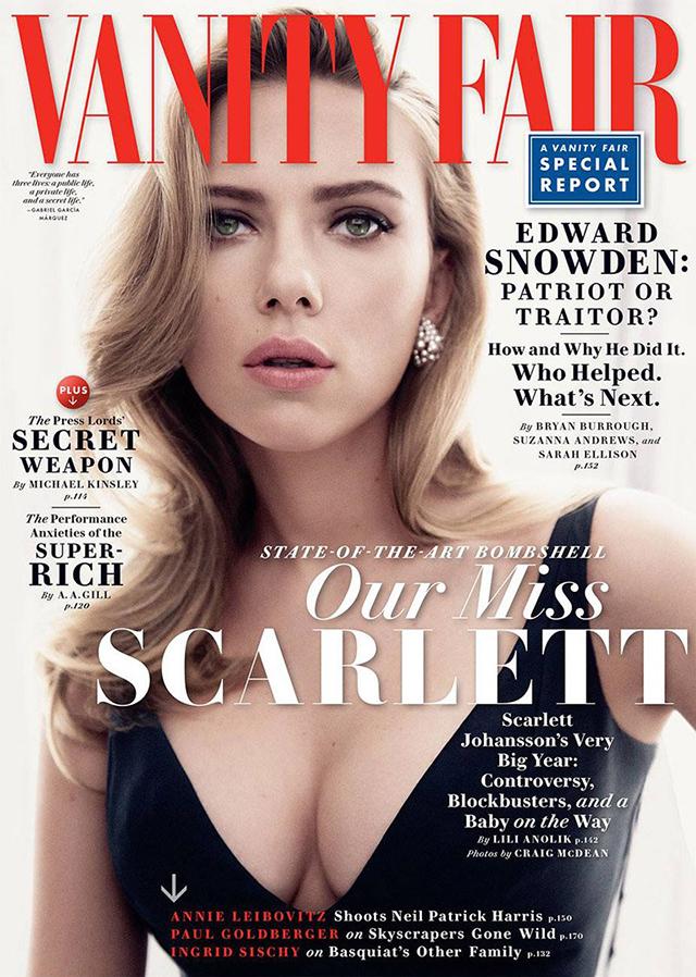 scarlett johansson covers vanity fair