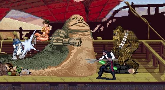 『スター・ウォーズ』オリジナル三部作を5分で再現!8bitのRPGゲーム風に仕上げてみた 【動画】