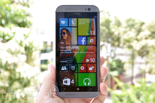 HTC One for Windows mockup (not real, folks)