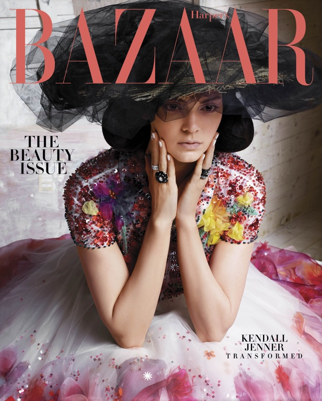 Kendall Jenner wows in beauty shoot for Harper's Bazaar