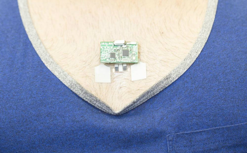 This sweat monitoring patch can tell how hard you're working
