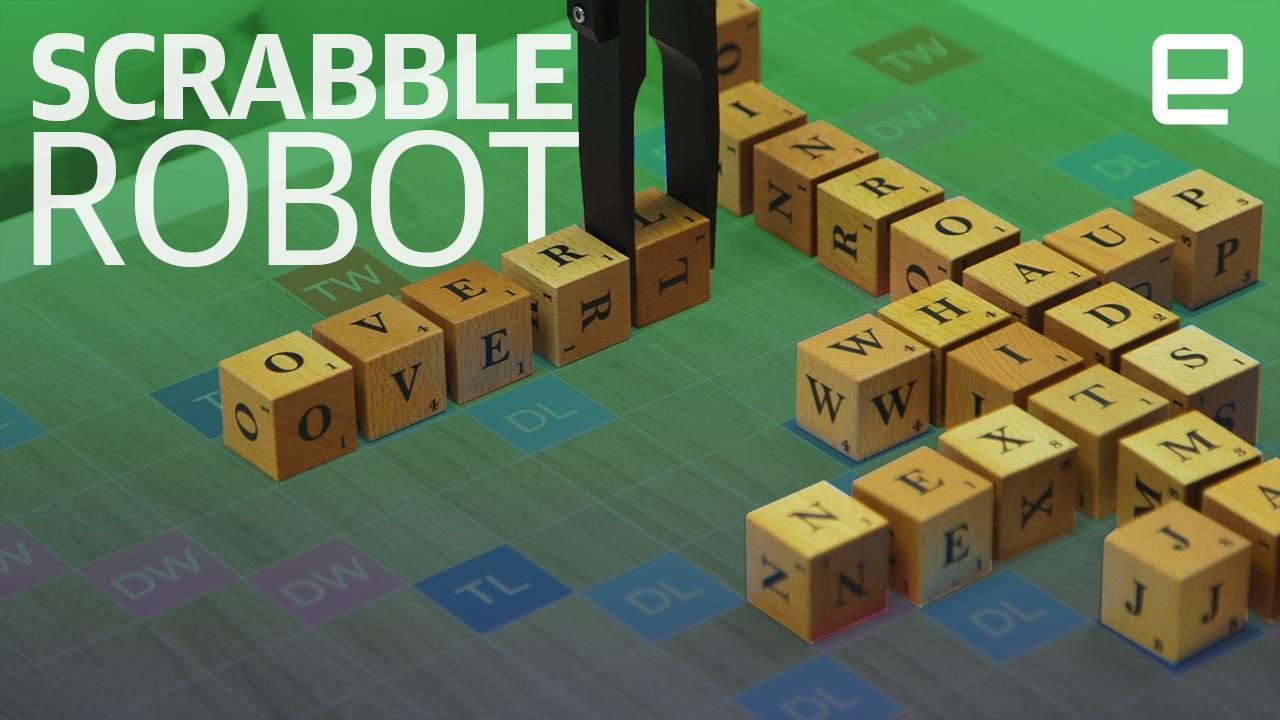 A robot kicked my ass in Scrabble at CES