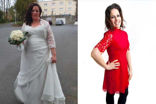 Mum-of-three Gemma Davies sheds 10 stone after her son asked if she was pregnant