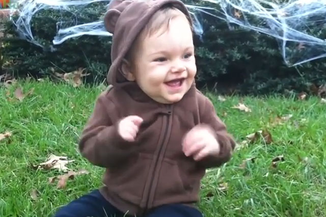 Daddy is home Heartwarming video captures excitement of babies when they see their father