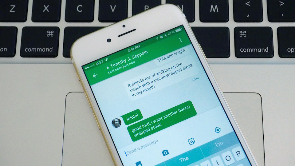 Google Hangouts for iOS gets a redesign, better performance