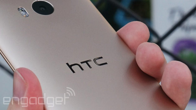 HTC One M8 up close