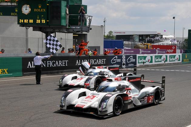 2014年のル・マン24時間レースはアウディが1・2位で5連覇! 追撃及ばずトヨタは3位!