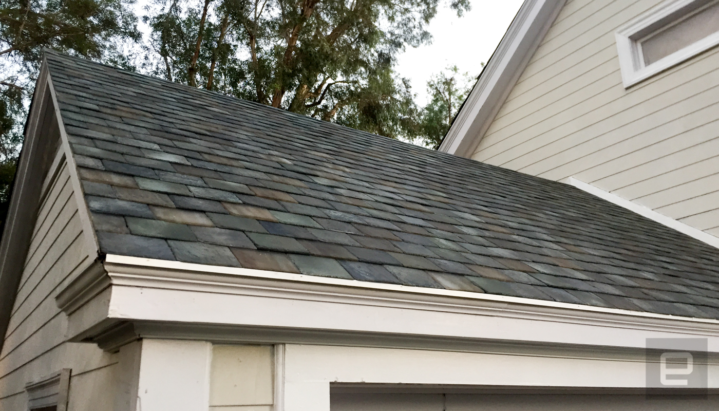 Tesla Unveils Its Solar Roof And Powerwall 2 Autoblog