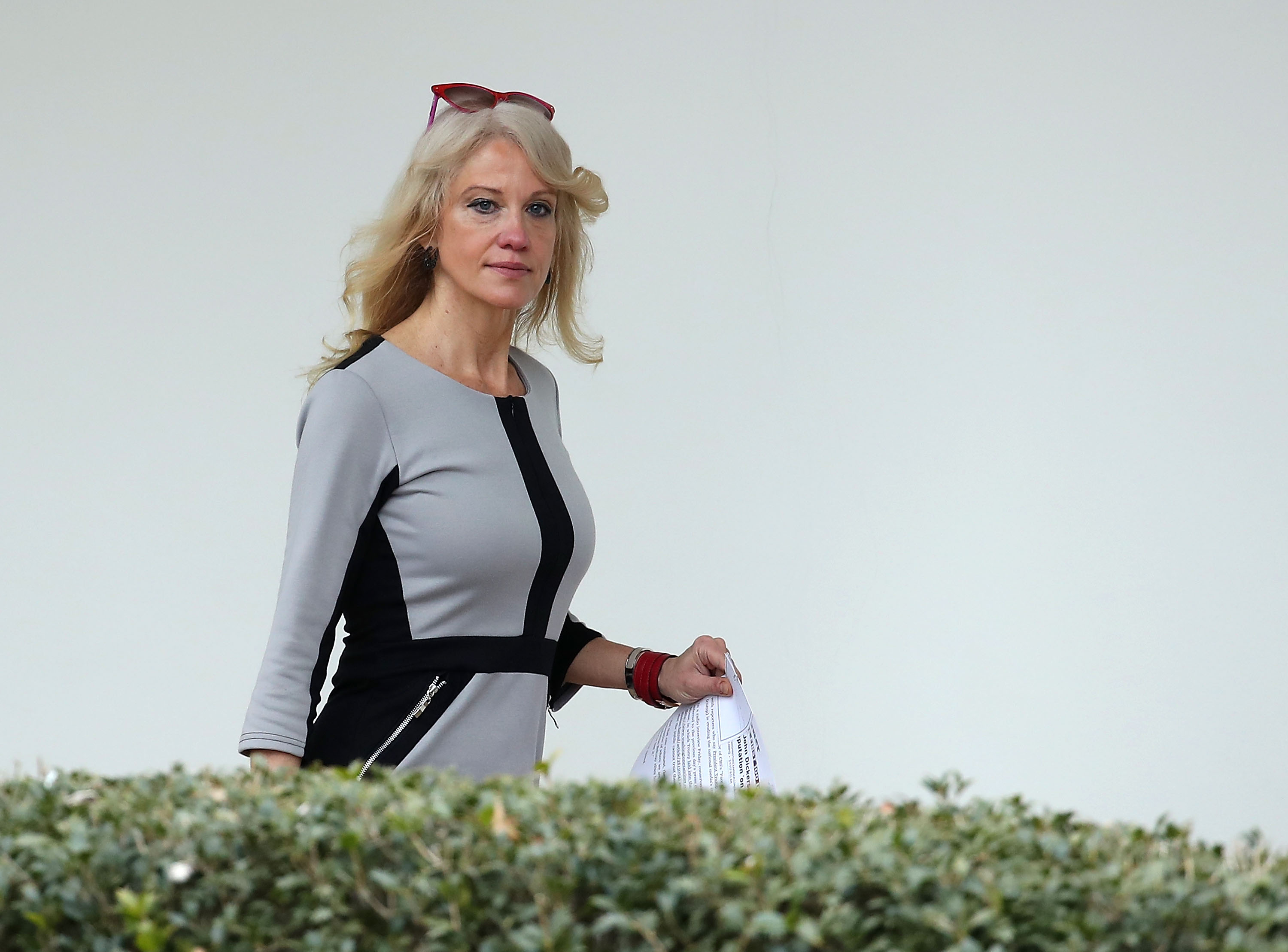 Kellyanne Conway blasted by the president of her alma mater