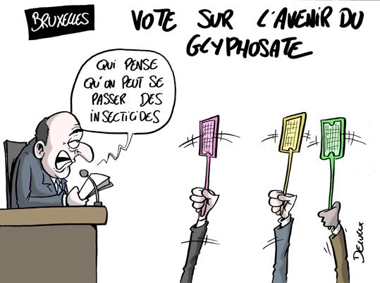 La France ne votera pas le renouvellement pour 5 ans — Glyphosate