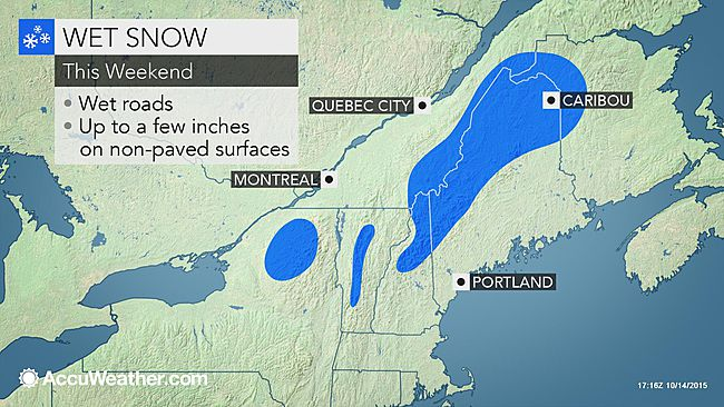 snow expected