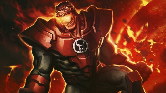The next time DC Comics tries to convince you that they're mature and grim, remember that they have a villain literally named Atrocitus and then feel kind of disappointed.