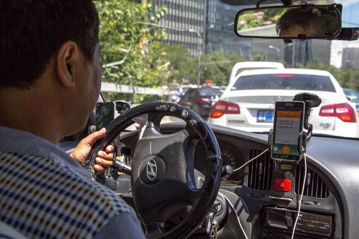 ​Apple invested $1 billion in Chinese ride-hailing service Didi Chuxing