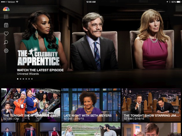 NBC is streaming live to iOS and Android, but not 'Everywhere'
