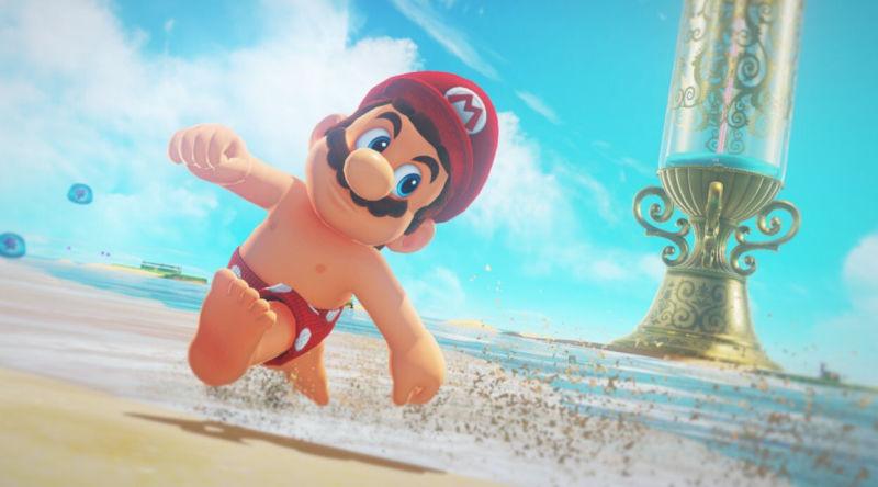 Super Mario oben ohne: Demnächst offiziell, jetzt schon im Mod
