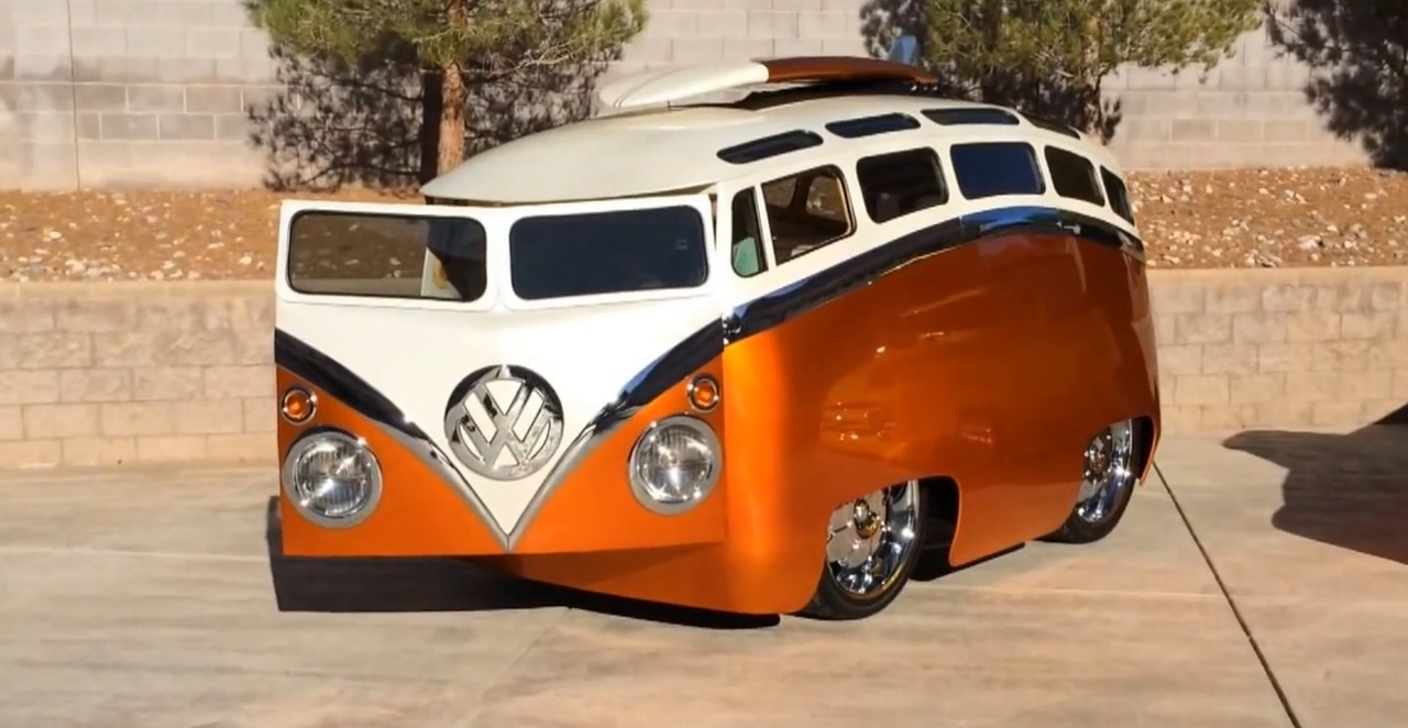 Surf seeker: Der verrückteste VW Bus der Welt